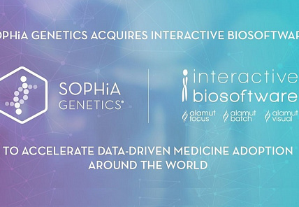 Sophia Genetics поглотила Interactive Biosoftware